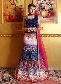 Indian Wedding Pakistani Choli Lehenga Bridal Ethnic wear Bollywood Traditional #TanishiFashion