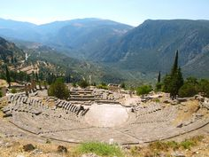 Delphi, Greece – Visiting the Greek Centre of the World Santorini Tours, Mykonos, Greece Tours, Greece Travel, Delphi Greece, Culture Art, Golf Tour, Day Tours, Outdoor Activities