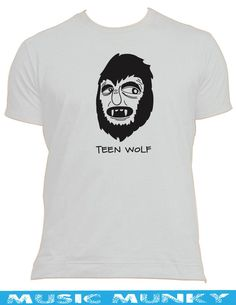 TEEN WOLF 80 s classic movie / tv NEW T-SHIRT ALL SIZES & COLOURS werewolf