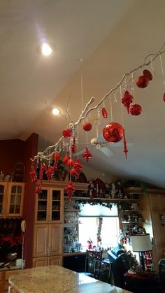 Hanging Christmas Decorations Ceiling.Pinterest