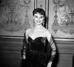 Audrey Hepburn, New York, 1953