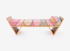 THE WOOD COLLECTOR   Aggregate Daybed - Hania Stella-Sawicka for The Sculpture House