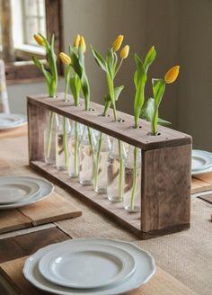 Простая деревянная ваза своими руками