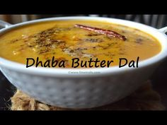 Dhaba Butter Dal Recipe || How To Make Dhaba Style Dal