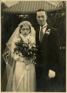 1936 Bride & Groom