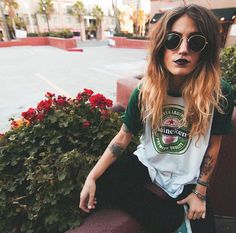 WEBSTA @ shoptrendyandtipsy - This super rad Heineken Beer Tee has hit the boutique and is online too!! Who is going to be the lucky one to snag it?! We are open till 7pm tonight! 🍻✨❤️ #trendyandtipsy #cheers #heineken #beer #vintage #boutique #pacificbeach #tipsytuesday