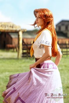 The Zelda Project (TZP): Malon in the Pasture by *Adella, Cosplay & Costumes