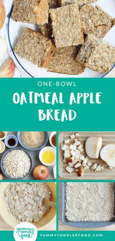 Apple Cinnamon Bread Stir up healthy and basic ingredients to make this Apple Bread recipe to share with the kids. The post Apple Cinnamon Bread appeared first on Toddlers Ideas. Apple Recipes For Toddlers, Baby Food Recipes, Bread Recipes, Snack Recipes, Apple Bread Recipe Healthy, Family Recipes, Healthy Toddler Meals, Healthy Snacks, Toddler Food