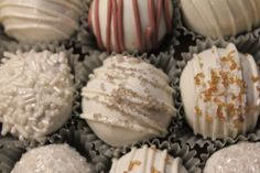 Wedding / winter / New Year's Eve cake ball
