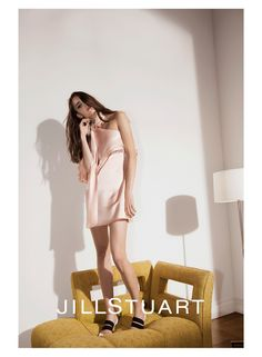An image from Jill Stuart's spring 2016 advertising campaign