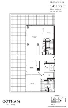 Upper Floor Plan 2 For 6 Plex House Plans Narrow Row