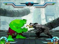 Hulk VS Venom Avengers Incredible Marvel Super Heroes Game Mugen