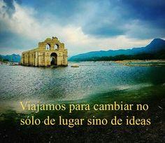 Viajamos no sólo para cambiar de lugar sino de ideas. #VisitaChiapas @visitachiapasapp