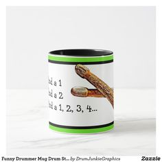 Funny Drummer Mug Drum Stick Count In Drumming