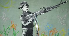 40 Powerful Photos Show Why Banksy Is the Spokesman of Our Generation Banksy Graffiti, Arte Banksy, Banksy Work, Street Art Banksy, Bansky, Graffiti Lettering, Urbane Kunst, Chalk Art, Street Artists