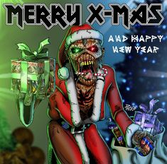 Iron Maiden Merry Christmas by pardocomics