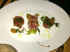 Tuna tartare & sashimi @ Restaurant El Gaucho