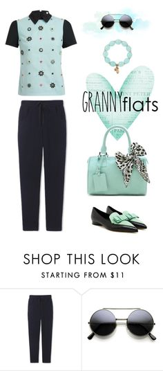 """""""Miss Priss"""" by youaresofashion ❤ liked on Polyvore featuring Tamara Comolli, women's clothing, women's fashion, women, female, woman, misses, juniors and grannyflats"""