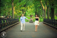 Central Park Engagement Photos | Mary-Beth & Julius