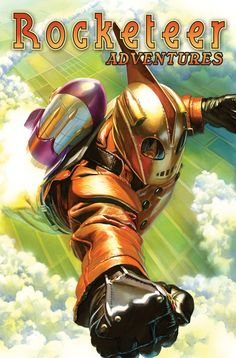_Rocketeer Adventures_, Vol. 1, hardcover | Cover art by Alex Ross