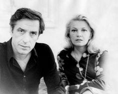 Gena Rowlands and John Cassavetes-