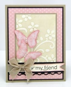Stampin Up Cards | Stampin' Up Card - so pretty! by stacey