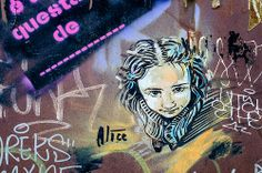 Alice #graffiti #barcelona