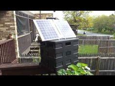 Camping Solar Battery Box V2.0  - Awesome setup for camping or emergency setup.