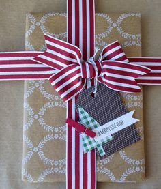 Laura's Works of Heart: TAGS & WRAP: