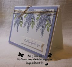 Welcome to Stamps Well With Others! I hope you will find some inspiration within the pages here. I'd love to be your Stampin' Up! Demonstrator, so please contact me at StampsWellWithOthers@gmail.com if you have any questions.