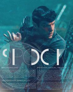 Star Trek character bio thingies: Spock