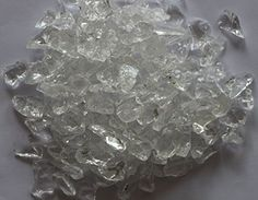 """Glass will not melt, degrade or produce toxic fumes Glass size """" or mm cu. Glass Rocks, Fire Glass, Deco Glass, Landscape Glass, Resin Bond, Dragon Glass, Patio Accessories, Terrazzo Flooring, Epoxy Floor"""
