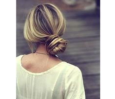 'Dos for a Rainy Day: The Low Side Bun #SELFmagazine