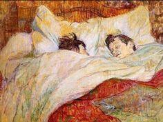 edgar degas in bed