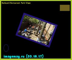 Backyard Restaurant Park Slope   The Best Image Search
