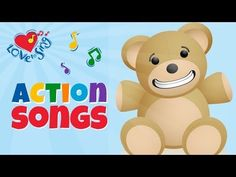 Bear Song | Johnny Bear | Children Love to Sing Kids Action Songs - YouTube