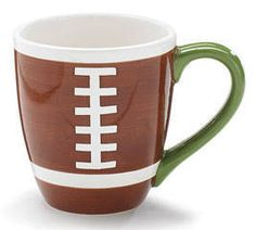 Who's ready for some football this weekend?! Don't forget to grab a cup to pep you up!