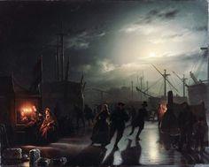 Petrus van Schendel ( 1806-1870), Meester van het Avondlicht ...