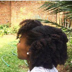 (@mrs_njau) afro hair. Natural hair. Kinky hair. Tight curls. Coils. Pretty hair. Thick natural hair.