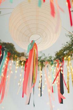 Decoración colgante en tu boda | Bodas