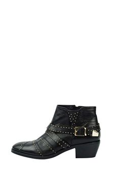 Studded Ankle Boots   Hush