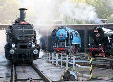 železniční muzeum Rudná