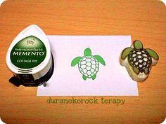 スモールはんこ ウミガメの巻 small stamp sea turtle