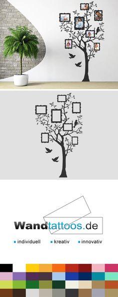 Wandtattoo Foto Baum als Idee zur individuellen Wandgestaltung. Einfach Lieblingsfarbe und Größe auswählen. Weitere kreative Anregungen von Wandtattoos.de hier entdecken!