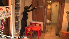 Marta Barceló lives in a 47 square meter (505 sq ft) apartment in Barcelona's Gothic Quarter. She first moved in with her husband. Then they had a son so the...