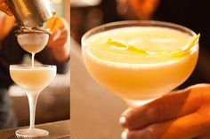 Pisco Punch (sounds very easy to make once the right ingredients are pulled together)