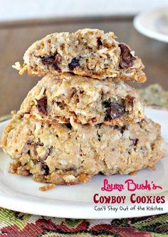 Laura+Bush's+Cowboy+Cookies