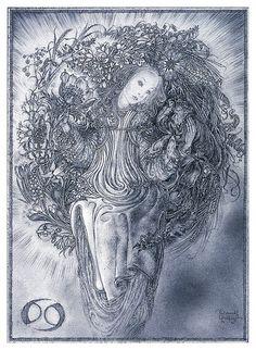003- Columpio de flores- Nature Spirits-Sulamith Wülfing -Via www.dana-mad.ru