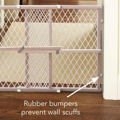 Toddleroo by North States wide Diamond Mesh Baby Gate: Installs in seconds. Baby Gates, Dog Fence, Mesh Panel, My Room, Sustainability, Hardwood, Image Link, Walls, Amp