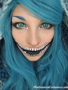 Scary Halloween makeup » Halloween Costumes 2013
